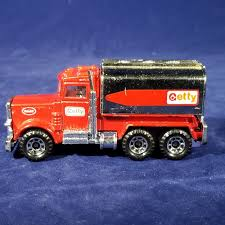 Matchbox Peterbilt Tanker Truck Red Diecast – Getty (1984, Macau ...