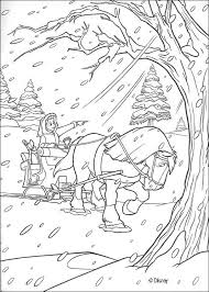 Snowstorm Coloring Pages