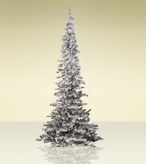 Flocked Snow Belle Artificial Christmas Trees