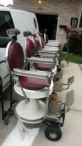 refinished takara belmont barber chairs in ray s barber shop nyc