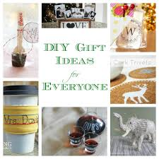 Homemade Gift Ideas DIY For Everyone