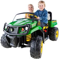 John Deere Gator 12-volt Battery-Powered Kids Toddlers Ride-On Cars ... The Ride On Double Digger Cstruction Toy Moves Dirt Articulated Truck Videos For Children Dump Garbage Tow Wooden Baby Toddler Rideon Free Delivery Ebay Of The Week Heavy Duty Imagine Toys Best Popular Chevy Silverado 12 Volt Kids Electric Car Amazoncom Megabloks Cat 3in1 Games 8 Starter Rideon Toys For Toddlers Jeep Wrangler To Twin Bed Little Tikes Power Wheels Disney Frozen 12volt Battypowered Baby Rideons Push Pedal Cars Toysrus Minnie Mouse