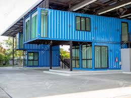 100 Modern Containers Blue Cuttingedge Shipping Container Construction Office
