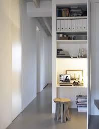 bureau dans un placard un bureau chez soi