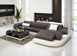 ledersofa wohnlandschaft ecksofa eck garnitur design modern sofa g 8009d