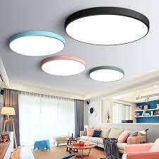 ultra dünne moderne led deckenleuchte runde einfache dekoration leuchten studie esszimmer balkon schlafzimmer wohnzimmer decke le