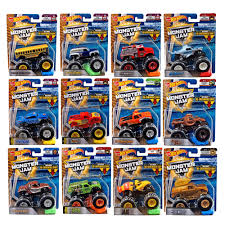 100 Monster Trucks Crashing Hot Wheels 2018 Jam 164 DieCast Vehicles CHOOSE YOUR