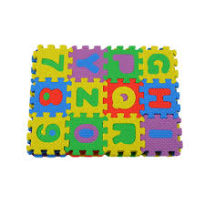 Colorful Educational Puzzle for Kids A Z Alphabet 0 9 Numeral