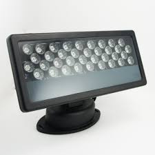 free shipping 36watt rgb led wall washer 110 265v ac flood light