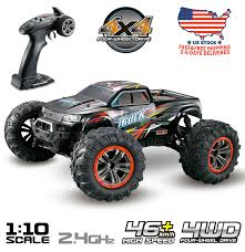 100 Gas Powered Remote Control Trucks Hosim RC Car 110 Scale 4WD 24Ghz Offroad Monster Truck 9125