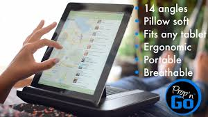 Amazon Padded Lap Desk by Prop U0027n Go Lap Desk For Ipad And Kindle Youtube