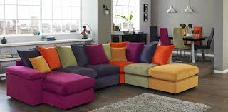 Cinetopia Living Room Skybox by Multi Color Living Room Design