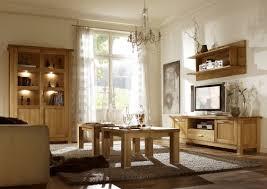 wohnzimmer komplett set a floresta 5 teilig eiche massiv farbe natur
