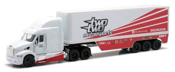 NewRay Model Truck Honda TwoTwo Motorsports Peterbilt, 1:32 | Maciag ... Long Haul Trucker Newray Toys Ca Inc Truck New Ray 132 Peterbilt 389 Cab Toy For Kids Youtube Company Limited Newray 25 Diecast Mini Novelty Model Collection Kevin Windham Ultimate Set 10 700 Off Revzilla Blue Plastic Transporter Towing Buy Intertional Lonestar Dump Diecast Scale Man Tga Artic Fridge Trailer A Mans World 143 Cattle Ranch With Barn Big R Stores 1923 Chevrolet Series D 1ton By Tow Custom Strobe Lights