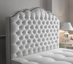 Black Leather Headboard With Diamonds by Stunning White Studded Headboard Headboard Ikea Action Copy Com