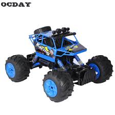OCDAY RC Car 1:14 Water And Land Truck Big Rubber Tire Electric ...