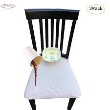10 Best Dining Chair Seat Covers (2019 Shopping Guide ... Sure Fit Stretch Pique Box Cushion Ding Chair Slipcover Bree Set Of 2 Taupe Classic Slipcovers Cabana Stripe Short Covers For Roomsilver Grey 6 Velvet Large Aegis Armchair Contemporary Modern Fniture Modway Pattern Cover Great Bay Home Plush Washable Summerhill Collection 4 Black Surefit Pearson Details About Fabric Scroll Top High Back Leather Oak Chairs Seat