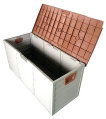 Suncast Db12000 Deck Box 127 Gallon by 100 Keter Storage Shed Menards Outdoor Storage Bins U2013