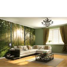 impressive forest wall murals cheap fantasy forest wall mural