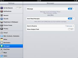 Getting Started with iMessage Setting Up Devices