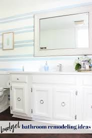 bathroom remodel ideas on a budget without compromising on style
