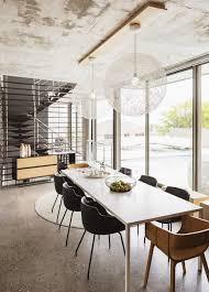 luxus interieur eines modernen hauses esszimmer geräumige