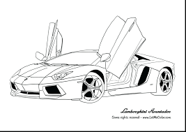 Muscle Car Coloring Book Pages Cars 2 Images Good Page Games Free Download Full Size
