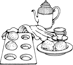 Coffee And Rolls Breakfast Clip Art at Clker