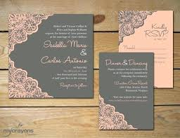 Luxury Etsy Wedding Invitations Rustic And A In Finds From Previous Invitation 76