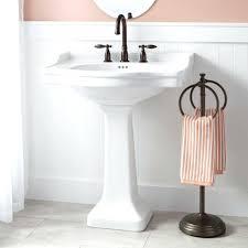 sinks corner pedestal sink kohler lowes memoirs 24 faucets