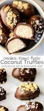Healthy Halloween Candy Alternatives by Chocolate Peanut Butter Coconut Truffles A Healthy Candy Recipe