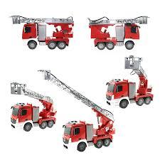 100 Fire Trucks Toys DOUBLE E 527003 RC MERCEDESBENZ ANTOS FIRE TRUCK 24GHz 120