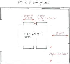 Dining Table Width 4 Person Dimensions Outstanding Standard Room