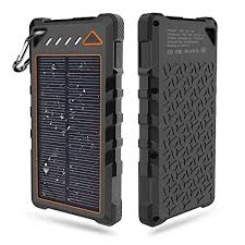 Besyoyo Solar Charger Waterproof mah Portable Phone Charger