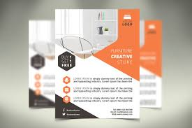 Furniture Flyer Templates Creative Market