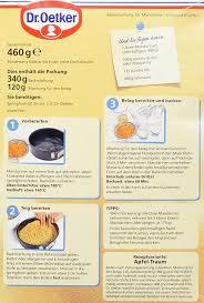 dr oetker mandarinen schmand kuchen 4er pack 4 x 460 g