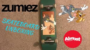 100 Zumiez Trucks Unboxing Almost Tom Jerry Complete Skateboard From YouTube