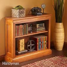 simple bookcase plans family handyman