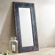 midnight splendor mosaic floor mirror pier 1 imports