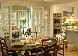 Dining Room With French Doors Fascinating In