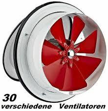 200mm zuluft lüfter ventilator motor wand fenster bad