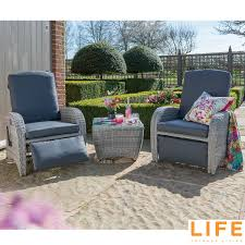 LIFE Outdoor Living Brisbane 3 Piece Reclining Chat Set | Costco UK Easy Stretch Couch Sofa Lounge Covers Recliner 3 Seater Ding Chair How To Buy A Devlin Lounges Brisbane Sydney Single Cover Ideas Baatricliftchairs Durable Australian Recliners Habe Glider Rocking Nursing Maternity With Ftstool Washable Covers Eden Rocker Fniture Lovely Slipcovers Target For Cozy Home Leather Chairs Lounge Chair Chaise Moran Atlantis Pinnacle Lazboy Australia Magica Armchair By Toshiyuki Kita For Giorgetti Space