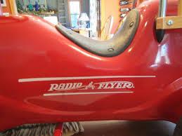 100 Radio Flyer Fire Truck Metal Ride On 1884004360