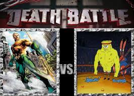 Spongebob That Sinking Feeling Top Sky by Death Battle Aquaman Vs Spongebob Squarepants By Volts48 On