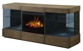Axel TV Stand With Electric Fireplace GDS25GD1583RSRM Dimplex