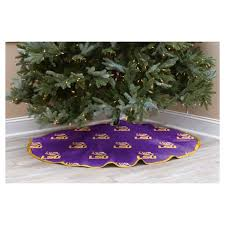 NCAA LSU Tigers Christmas Tree Skirt Target