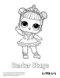 Lol Coloring Pages Center Stage Page Sugar
