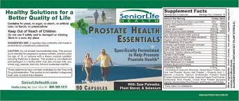 Pumpkin Seed Oil Shrink Prostate by Seniorlife Health Prostate Health Essentials
