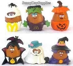 Mcdonalds Halloween Buckets by Vintage Mcdonald U0027s Happy Meal Toys Halloween By Sunnydaysupplies