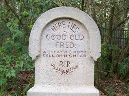 Halloween Tombstone Sayings by I Told You I Was Ill U0027 The Funniest Messages Carved Into